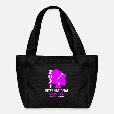Afro International Women's Day Shirt Choose To - Lunch Bag