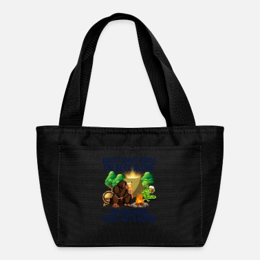 Weed Tent Bigfoot needs weed with Homie - Lunch Bag