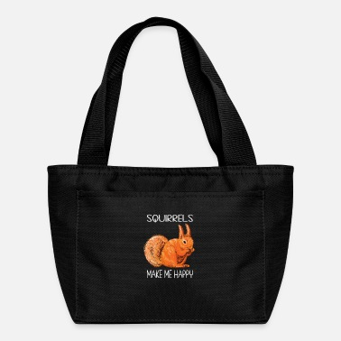 Squirrel Squirrel Drawing - Lunch Bag