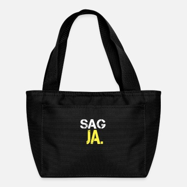 Ja Say yes say yes to me baby say yes wedding proposa - Lunch Bag