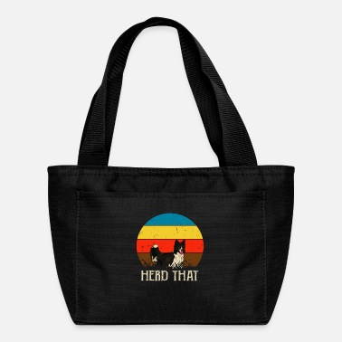 Herding Dog Herd That - saying for shepherd and dog - Lunch Bag