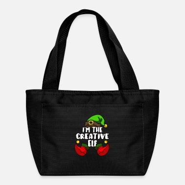 Set Creative Elf Matching Family Group Christmas Gift - Lunch Bag