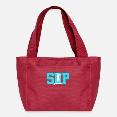 Kayaking SUP Stand up Paddle Logo Paddle - Lunch Bag