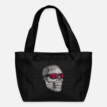Head head with sunglasses - Lunch Bag