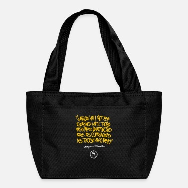 Bengalo Ben Franklin Quote - Lunch Bag