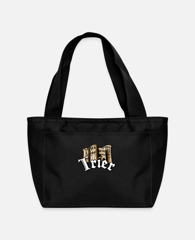 Rhineland-Palatinate Bags & Backpacks - Trier City Porta Nigra Moselle Home - Lunch Bag black