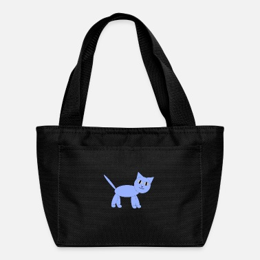 Triangle Cat geometric shapes - Lunch Box