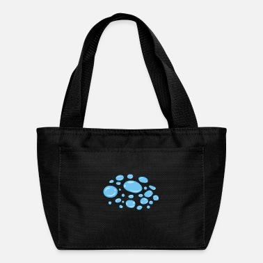 Water Droplets Water Droplets Pattern Design Redbubble - Lunch Bag