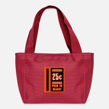Neon Coin Slot - Lunch Bag