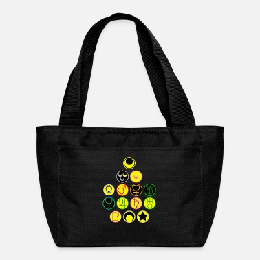 Moon Sailor Scouts and the Moon Symbols - Lunch Bag