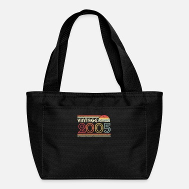 Born In 2005 Vintage Print, Birthday Gift Tee. Retro - Lunch Box