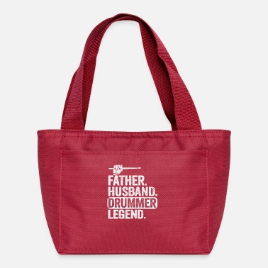 Drumsticks Father Husband Drummer Legend Father's Day Gift - Lunch Bag
