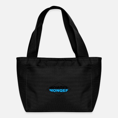 Black Light BLACK & LIGHT BLUE - Lunch Bag