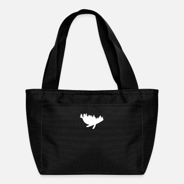 Best Whale Forest Nature Design for Wilderness Fan - Lunch Bag