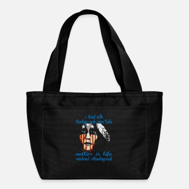 Stand STAND WITH STANDING ROCK NODAPL - Lunch Bag