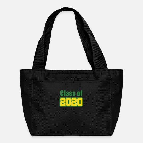College Bags & Backpacks - Class of 2020 green gold - Lunch Box black