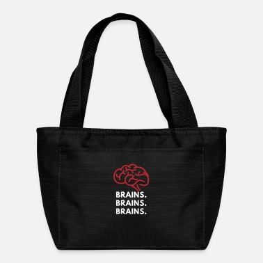 Brain Brains. Brains. Brains. Tee - Lunch Bag