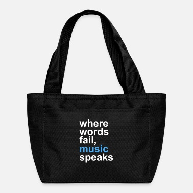 Speaks Music speaks - Lunch Bag