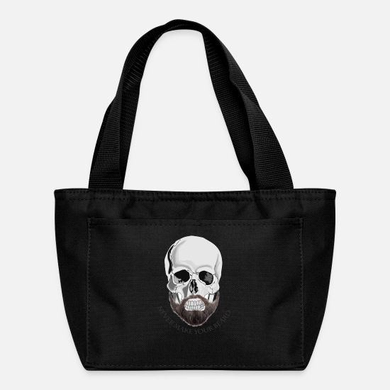 Rock Bags & Backpacks - beard bone - Lunch Bag black