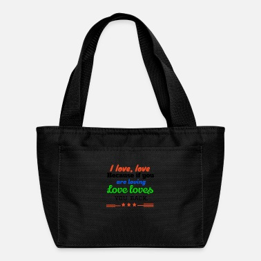 I Love I love,LOVE - Lunch Bag