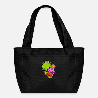 Half Moon Alien planet - Lunch Bag