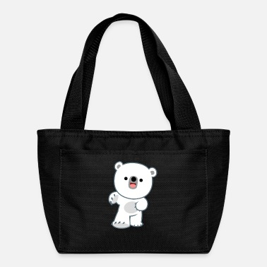 Cute Happy Polar Bear Cub by Cheerful Madness!! - Lunch Bag