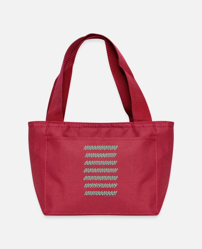 "Movie Lunch Boxes - ""Ramseys Matrix"" - Lunch Bag red"