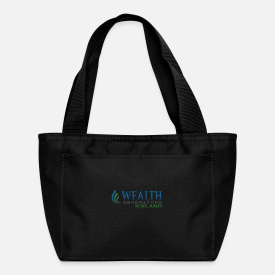 Wealth Bags & Backpacks - WGiCELAND - Lunch Box black