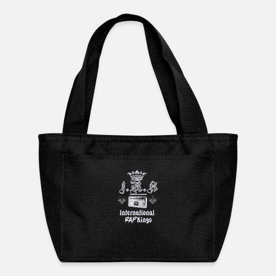 Rap Bags & Backpacks - IRK International Rap Kings - Lunch Bag black