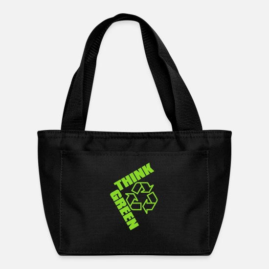 Eco Bags & Backpacks - Think_Green - Lunch Box black