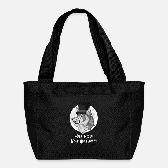 Gentleman Bags & Backpacks - Half-Wolf Half-Gentleman - Lunch Bag black
