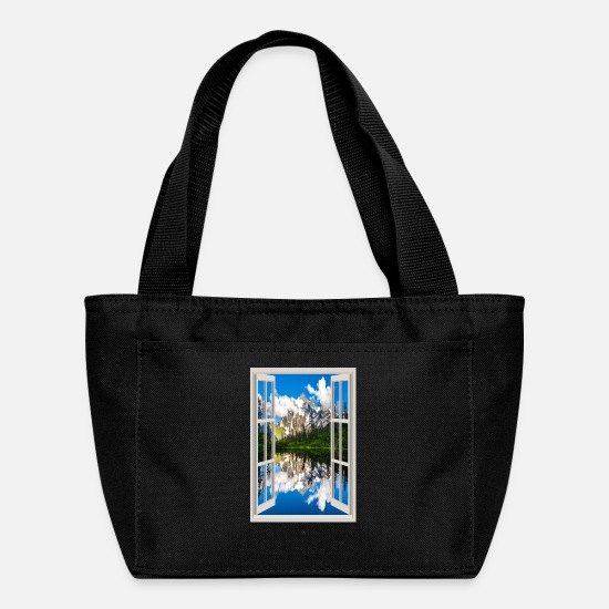 View Bags & Backpacks - Window 1 - Lunch Bag black