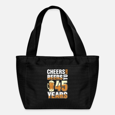Cheers And Beers To 45 Years - Lunch Box