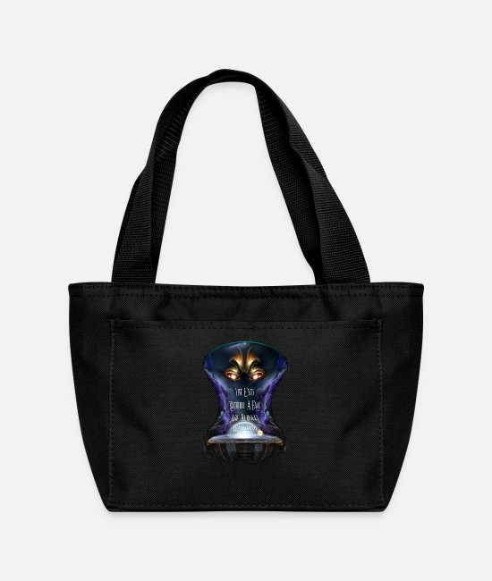 Supervisor Bags & Backpacks - Eyes Without A Face TROO ISOBx PJTN - Lunch Bag black