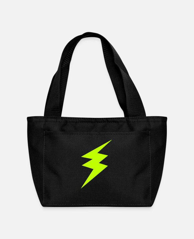 Electricity Lunch Boxes - Rayo lightning - Lunch Bag black