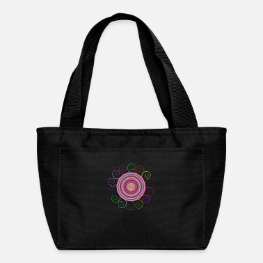 Circular Circular rainbow - Lunch Bag
