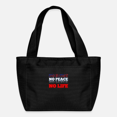 Human Righ No right, no peace, now life. - Lunch Bag