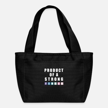 Production Year product of a strong female - Lunch Bag