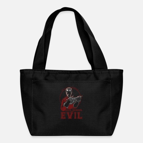 Evil Bags & Backpacks - Dr.Horrible's Evil School of Evil - Lunch Bag black