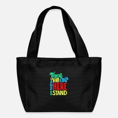 There you are and here i stand - Lunch Box