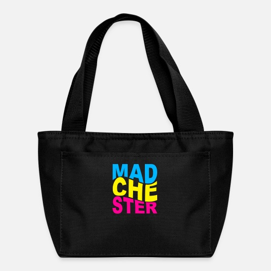 Parody Bags & Backpacks - Madchester Music Scene - Lunch Box black