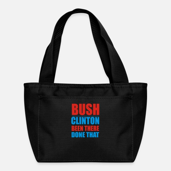 Movie Bags & Backpacks - Bush Clinton Large - Lunch Box black