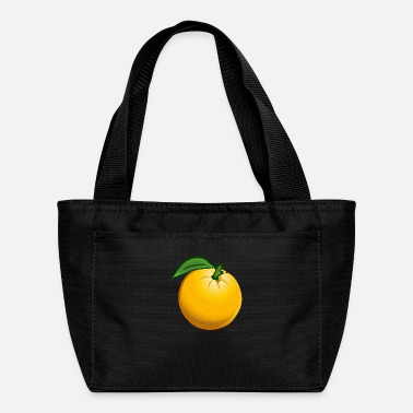 Edification orange coloured - Lunch Bag