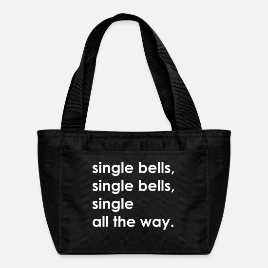 Single Bags & Backpacks - Single Bells Single Bells Single All Way Christmas - Lunch Box black