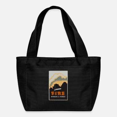 Poster Fire Poster - Lunch Bag