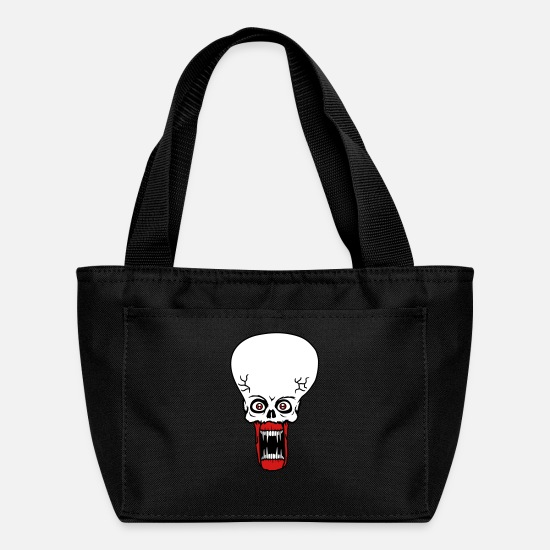 Cosmic Bags & Backpacks - head face evil ugly disgusting tentacle monster ho - Lunch Box black