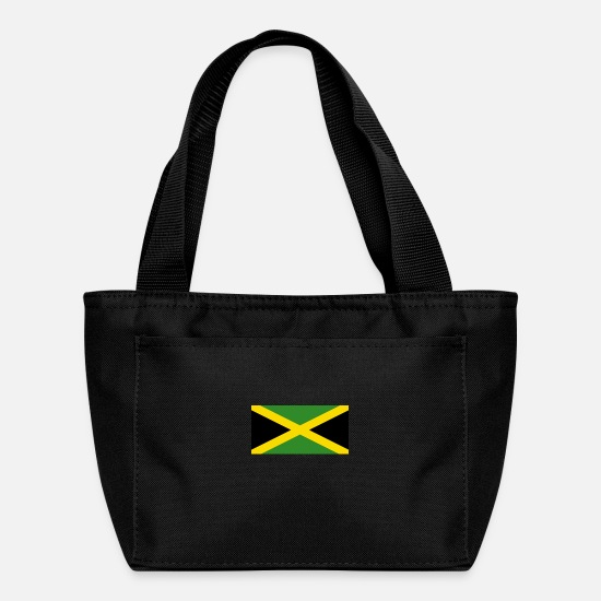 Nationality Bags & Backpacks - National Flag Of Jamaica - Lunch Box black