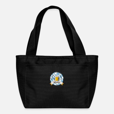 munich german beer party bavaria flag tent drink l - Lunch Bag