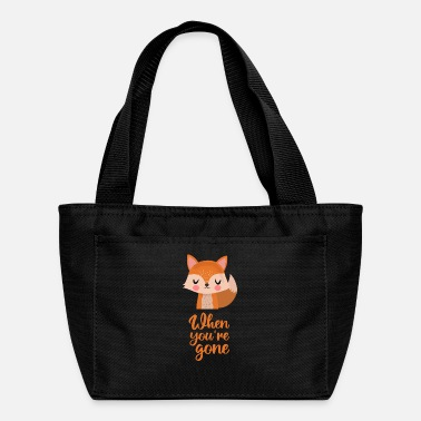Emotion Love, fox, animal, emotion, lovers, baby - Lunch Bag