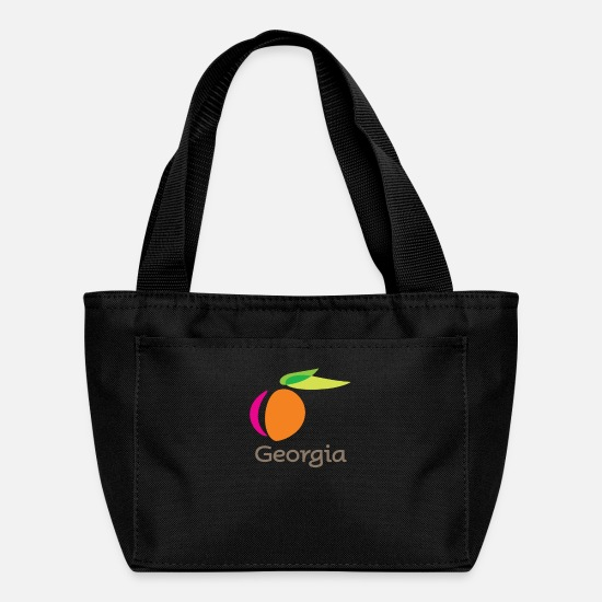Georgia Bags & Backpacks - georgia productions merch - Lunch Bag black